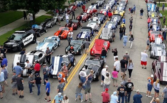 ED COMBS COMMEMORATIVE PARADE, CRUISE-IN, VENDOR EXHIBITS, CHARITY RIDES and RAFFLE